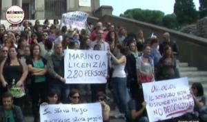 protesta almaviva piazza