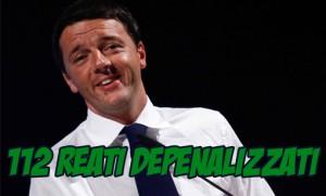 renzie_depenalizza